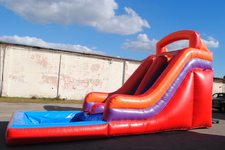 16 Foot Slide with pool $275