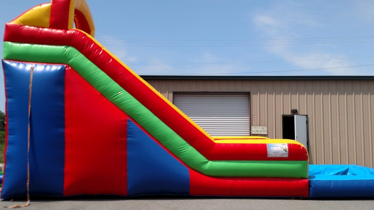 18 Foot Slide with pool $300