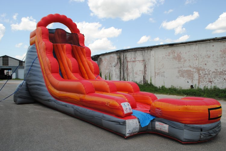 Out of Commission 18' red slide landing (wed/dry) $300