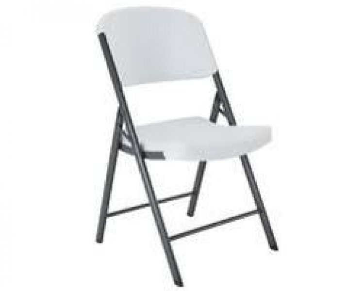 Chairs - Plastic White Folding (3 kinds) Call for pricing